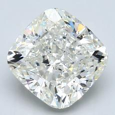 4.72-Carat Cushion Diamond Very Good J VVS2
