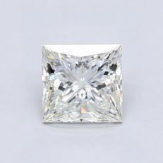 Pierre recommandée n°4: Diamant taille princesse 0,92 carat