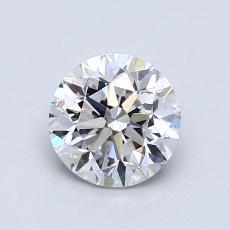 1.00 Carat 圓形 Diamond 良好 E SI1