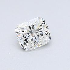 0.51-Carat Cushion Diamond Very Good F VS2