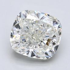 推荐宝石 1:4.01 克拉垫形钻石