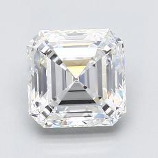 Target Stone: 1.78-Carat Asscher Cut Diamond