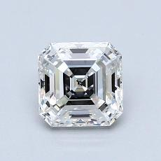 Recommended Stone #3: 1.02-Carat Asscher Cut Diamond