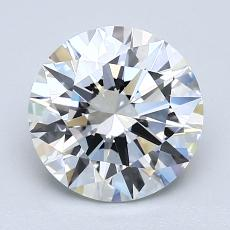 2.02-Carat Round Diamond Ideal F VVS2