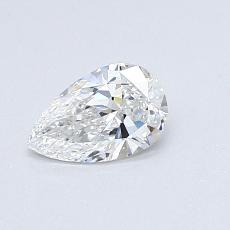 Recommended Stone #4: 0.45-Carat Pear Cut Diamond