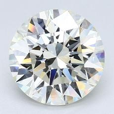 4.01-Carat Round Diamond Ideal K VS1