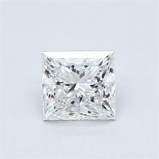 Recommended Stone #4: 0.81-Carat Princess Cut
