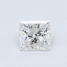 Pierre recommandée n°4: Diamant taille princesse 0,77 carat
