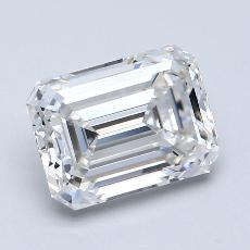 Recommended Stone #2: 1,70-Carat Emerald Cut Diamond