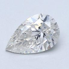 Recommended Stone #1: 1.06-Carat Pear Shaped