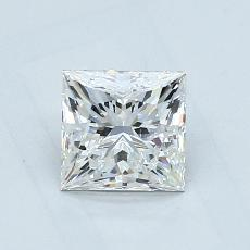 1.02-Carat Princess Diamond ASTOR H VS1