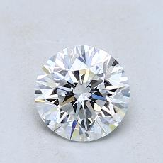 1.01-Carat Round Diamond Good D VS2