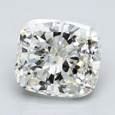 推荐宝石 3:4.01 克拉垫形钻石
