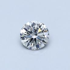 Recommended Stone #2: 0,38-Carat Round Cut Diamond