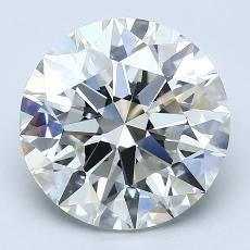 4.01-Carat Round Diamond Ideal I VS1