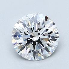 1.53-Carat Round Diamond Ideal F VS1