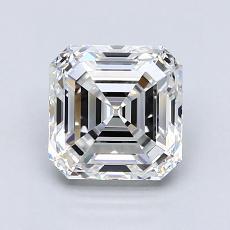 Recommended Stone #4: 1.61-Carat Asscher Cut Diamond