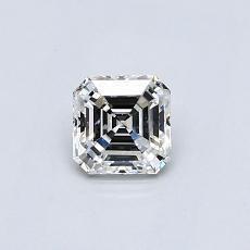 Recommended Stone #2: 0.47-Carat Asscher Cut Diamond