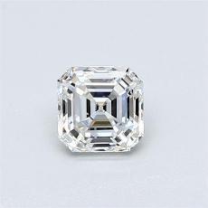Piedra recomendada 4: Diamante de talla Asscher de 0.58 quilates