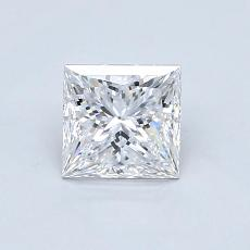 Recommended Stone #4: 0.85-Carat Princess Cut Diamond
