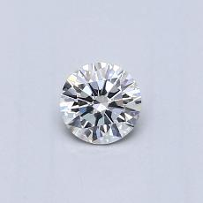 Recommended Stone #2: 0,26-Carat Round Cut Diamond