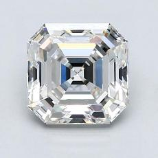 2.05-Carat Asscher Diamond Very Good G VVS1