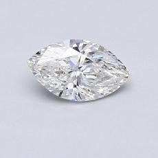 Recommended Stone #4: 0.48-Carat Marquise Cut Diamond
