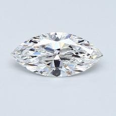 1,01-Carat Marquise Diamond Very Good D IF