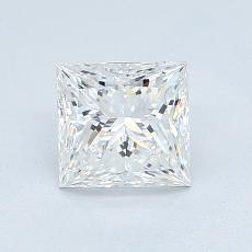 1.06 Carat 公主方形 Diamond 非常好 F IF