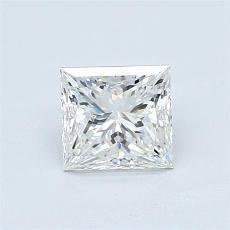 Pierre recommandée n°4: Diamant taille princesse 0,90 carat