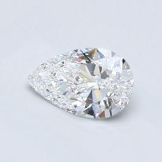 Recommended Stone #2: 0,50-Carat Pear Cut Diamond
