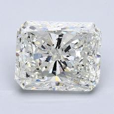 5,57 Carat Radiant Diamond Très bonne J SI2