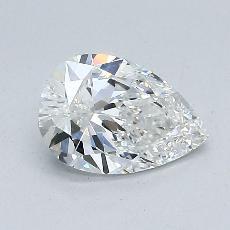 Pierre recommandée n°3: Diamant taille poire 0,92carats