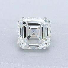 Pierre recommandée n°1: Diamant Taille Asscher de 0,78carat