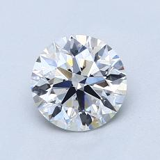 1.07-Carat Round Diamond Ideal E VS1