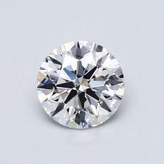0,76 Carat Rond Diamond Idéale E SI1