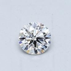 0.51-Carat Round Diamond Very Good H VS2