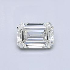 Recommended Stone #4: 0.52-Carat Emerald Cut Diamond
