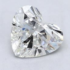 1.32-Carat Heart Diamond Very Good F VS2