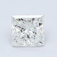 目标宝石:1.35 克拉公主方形钻石