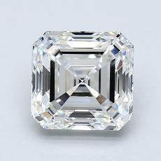 Pierre recommandée n°2: Diamant taille Asscher 1,70 carat