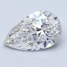 Recommended Stone #2: 2.01-Carat Pear Cut Diamond