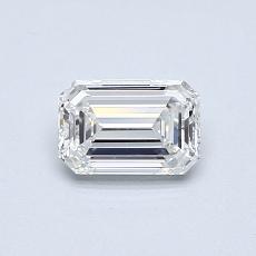 目标宝石:0.51 克拉祖母绿切割钻石