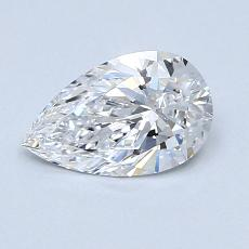 Recommended Stone #1: 0.70-Carat Pear Cut Diamond