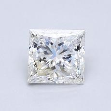 0.83 Carat 公主方形 Diamond 非常好 G VVS2