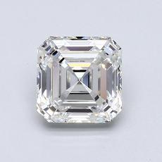 Pierre recommandée n°2: Diamant Taille Asscher de 0,92carat
