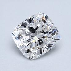 1.03 Carat 垫形 Diamond 非常好 D VS2