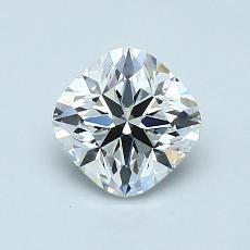 1.00-Carat Cushion Diamond ASTOR G VVS2