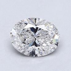 Recommended Stone #2: 1,02-Carat Oval Cut Diamond