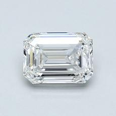 Recommended Stone #2: 0.90-Carat Emerald Cut Diamond